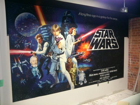 starwars-mural